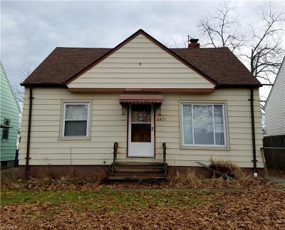 Cleveland Single Family Home For Sale: 4431 Fulton Road