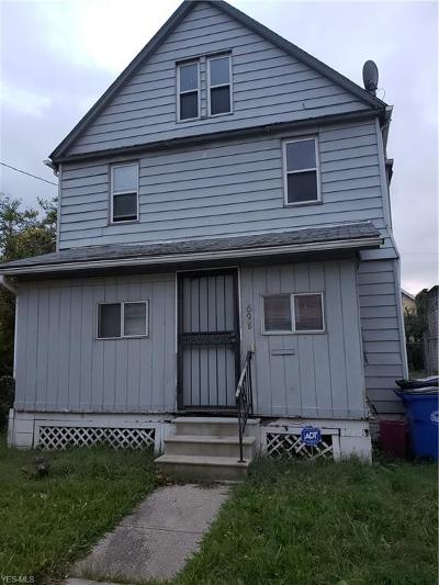Cleveland Single Family Home For Sale: 698 East 125th St