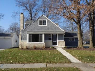Avon Lake Single Family Home For Sale: 130 Parkwood Ave