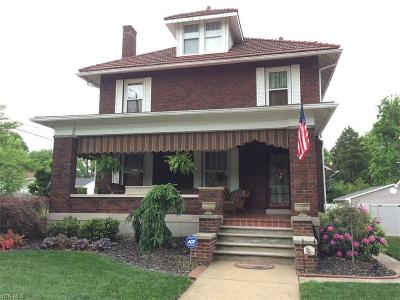 Single Family Home For Sale: 1626 Washington Ave