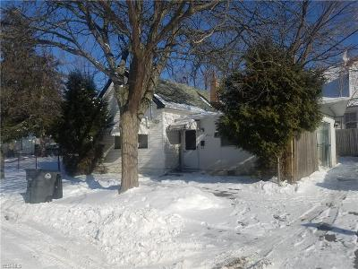 Cleveland Single Family Home For Sale: 3623 East 120th St