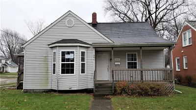 Painesville OH Single Family Home For Sale: $82,000