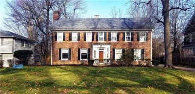 Cuyahoga County Single Family Home For Sale: 13901 Larchmere Blvd