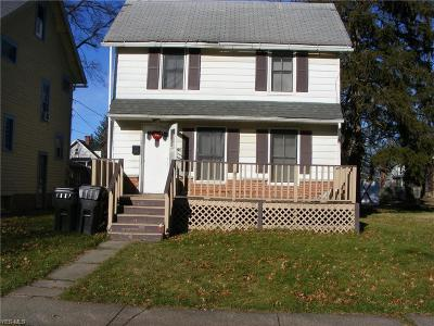Elyria Single Family Home For Sale: 329 11th St
