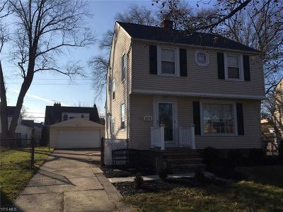 Cleveland OH Single Family Home For Sale: $194,900