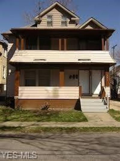 Cleveland Multi Family Home For Sale: 397 East 148th St