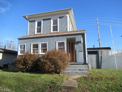 Massillon Single Family Home For Sale: 724 6th St Southwest