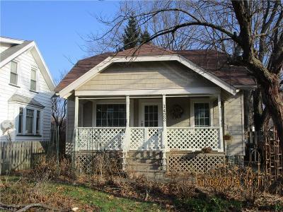 Ashtabula OH Single Family Home For Sale: $57,000