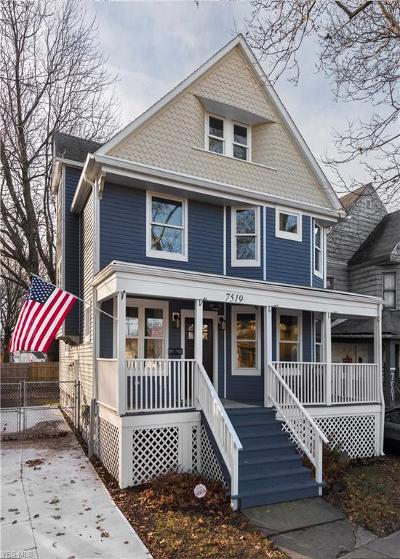 Cleveland Single Family Home For Sale: 7519 Franklin Blvd