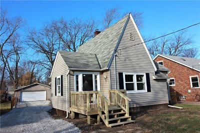 Painesville OH Single Family Home For Sale: $107,900
