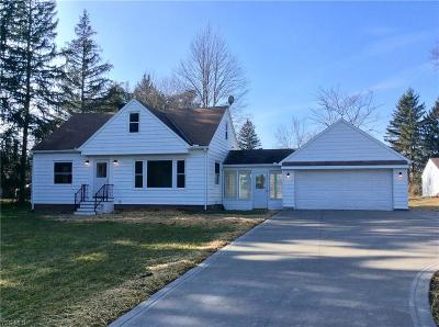 Strongsville Single Family Home For Sale: 12530 Webster Rd