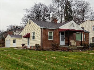 Fairview Park Single Family Home For Sale: 21221 Westwood Rd