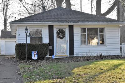 Elyria Single Family Home For Sale: 992 Oakwood Dr