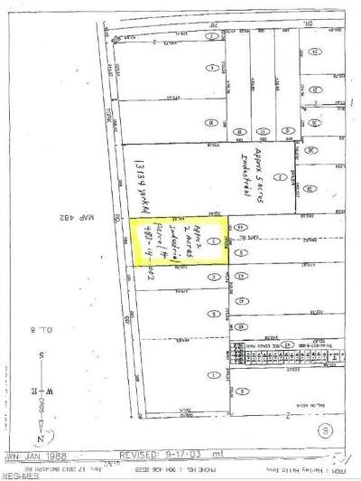 North Royalton Residential Lots & Land For Sale: York Rd