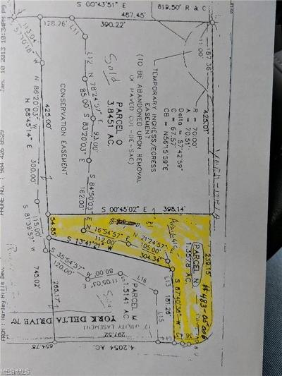 Cuyahoga County Residential Lots & Land For Sale: York Delta Dr