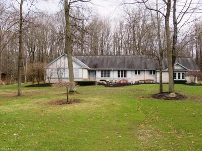 Lordstown Single Family Home For Sale: 2841 Silver Fox Dr Southwest