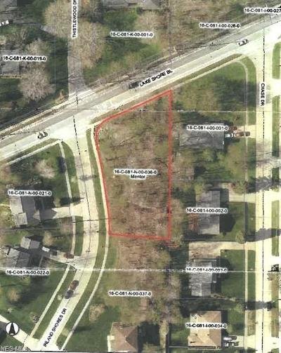 Lake County Residential Lots & Land For Sale: S/L 1 Inland Shores Dr