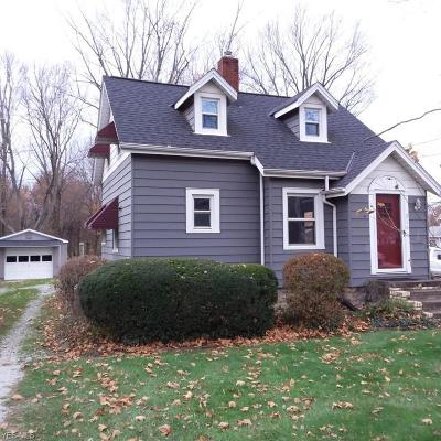 Painesville Township OH Single Family Home For Sale: $110,983