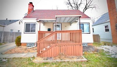Cuyahoga County Single Family Home For Sale: 52 Zeller Ct