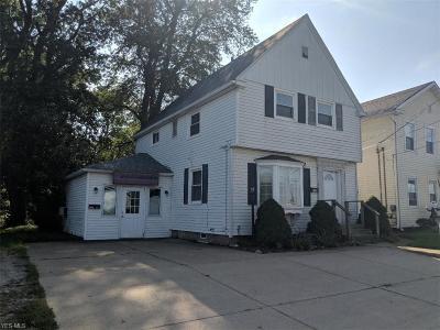 Ashtabula OH Single Family Home For Sale: $74,900