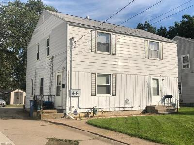 Lorain Multi Family Home For Sale: 3929-3931 Gary Ave