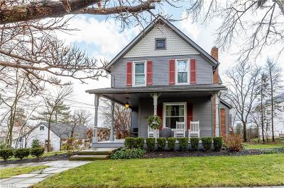 Brecksville Single Family Home Contingent: 8929 Elm St