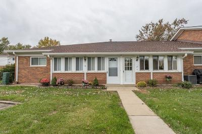 North Olmsted Condo/Townhouse For Sale: 25315 Clubside Dr