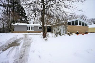 Brecksville Single Family Home For Sale: 10300 Whitewood Rd