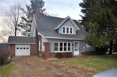 Walnut Creek Single Family Home For Sale: 2723 Township Road 444