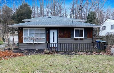 North Ridgeville Single Family Home For Sale: 5035 Lear Nagle Rd