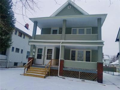 Cleveland Multi Family Home For Sale: 3231 West 112th St