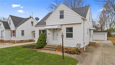 Mayfield Heights Single Family Home For Sale: 1400 Sunset Rd