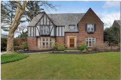 Shaker Heights Single Family Home For Sale: 2679 Cranlyn Rd
