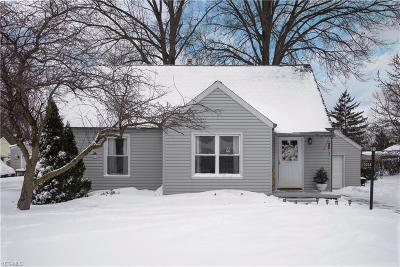 North Olmsted Single Family Home For Sale: 5558 Porter Rd