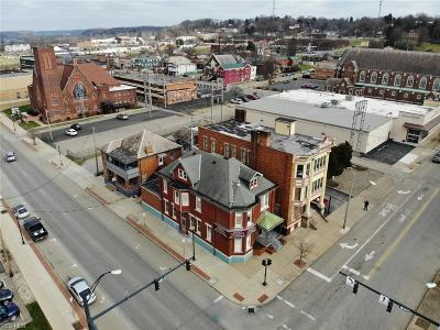 Zanesville Commercial For Sale: 601 Market St