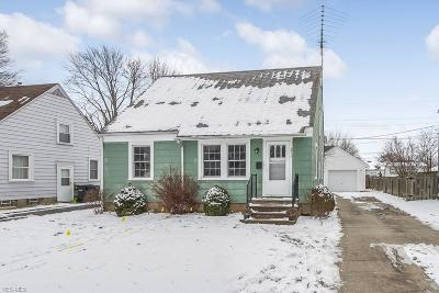 Lorain County Single Family Home For Sale: 311 Hawthorne St