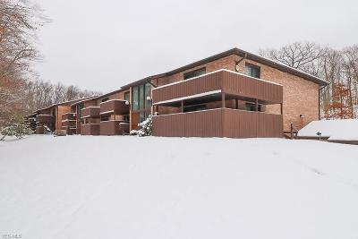 Cuyahoga County Condo/Townhouse For Sale: 6850 Carriage Hill Dr #51