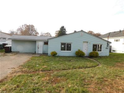 Lorain Single Family Home For Sale: 4870 Toledo Ave