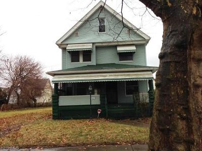 Cleveland Single Family Home For Sale: 487 East 124th St
