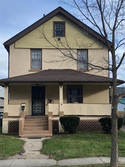 Cleveland Single Family Home For Sale: 3469 West 129th St