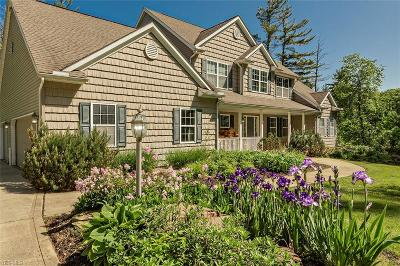Geauga County Single Family Home For Sale: 11270 Sherman Rd