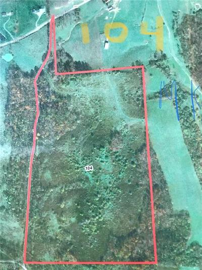 Muskingum County Residential Lots & Land For Sale: Chipmunk Road