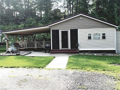Guernsey County Single Family Home For Sale: 17875 Lashley Rd #Lots 290