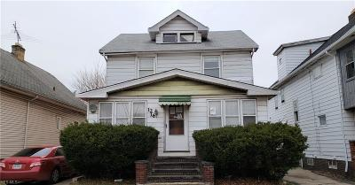 Cleveland Single Family Home For Sale: 1216 East 173rd St