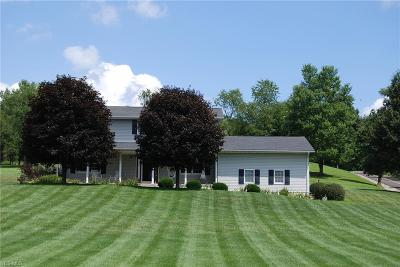 Zanesville Single Family Home For Sale: 5525 Boggs Rd
