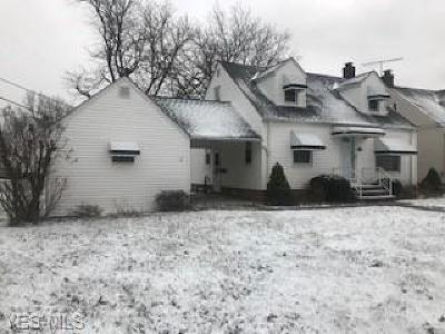 Euclid Single Family Home For Sale: 859 East 210th St