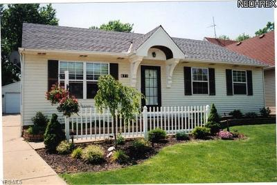 Cleveland Single Family Home For Sale: 871 Marcie Dr