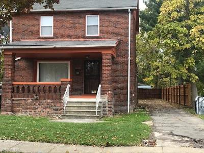 Cleveland Single Family Home For Sale: 3860 East 149th St
