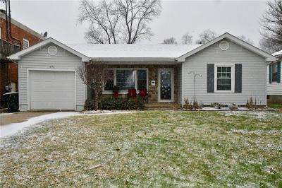 Zanesville OH Single Family Home For Sale: $95,600