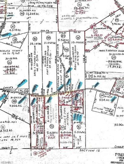 Guernsey County Residential Lots & Land For Sale: Catbird Rd